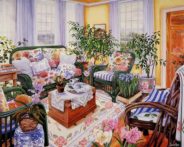 Art_painting_of_Susan_Rios_03_Amaryllis_Too