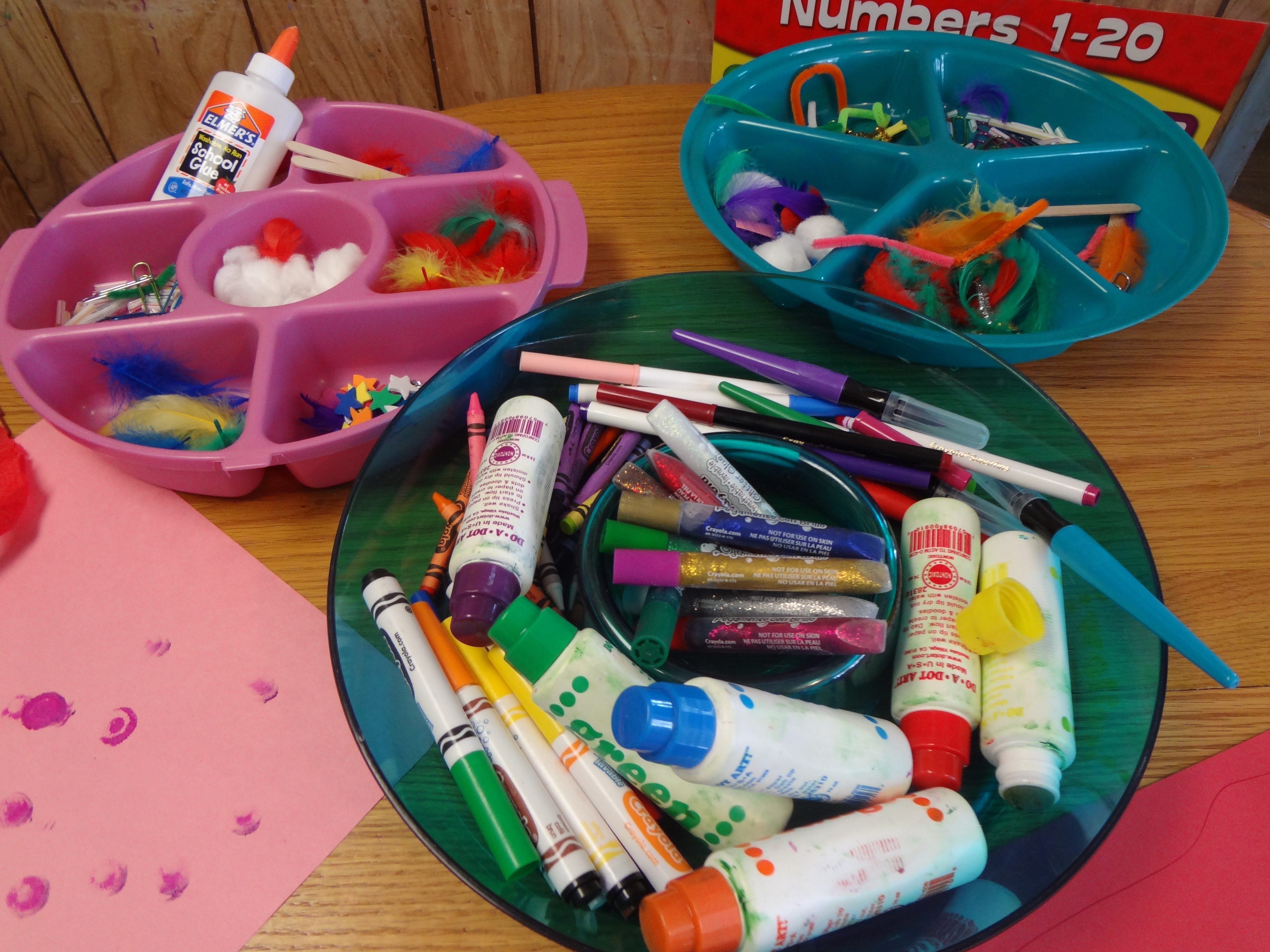 Materials that encourage children to be creative mom for Things made by waste material for kids