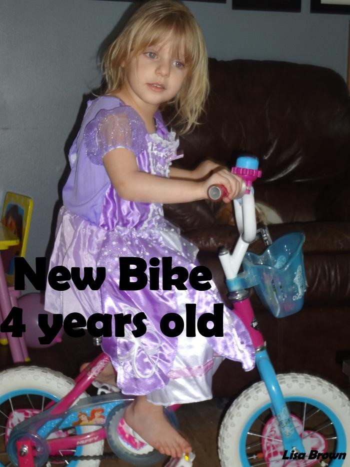 2014 Kaylees new bike