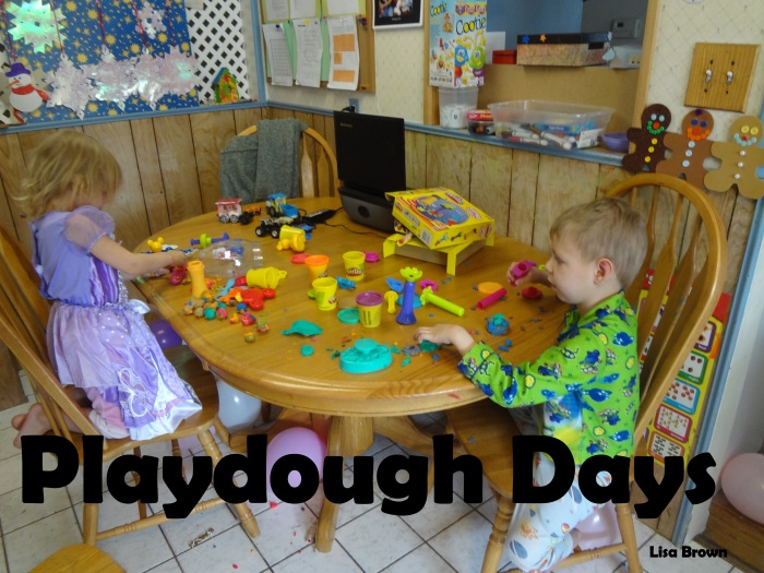 2014 Playdough days
