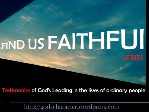 FIND US FAITHFUL SERIES