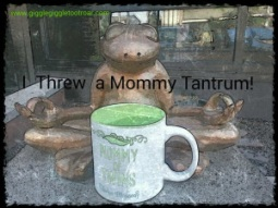 mommy tantrum frog