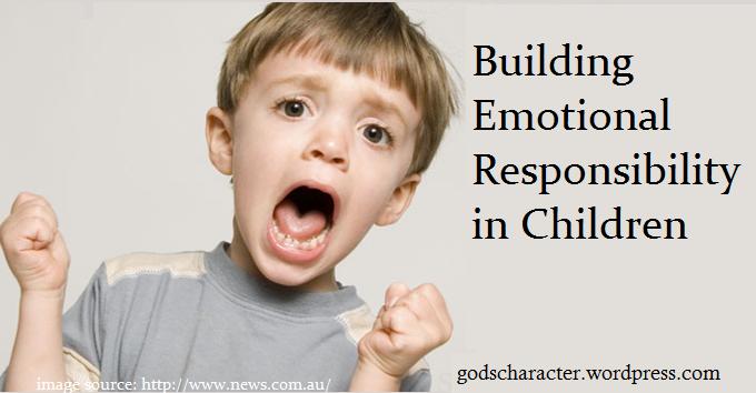 Building Emotional Responsibililty