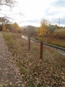 path alone river