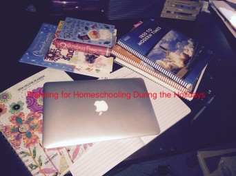 planning homeschooling