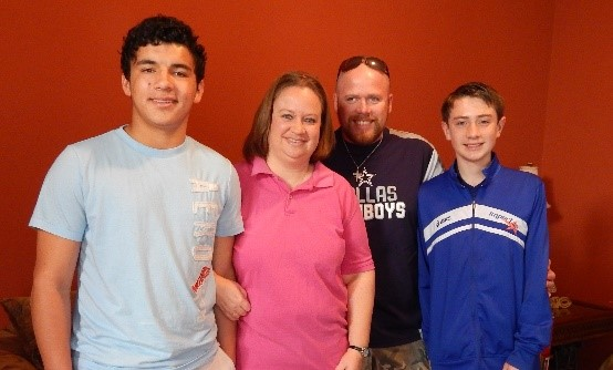 Rachelle and family