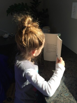 Shannon daughter reading