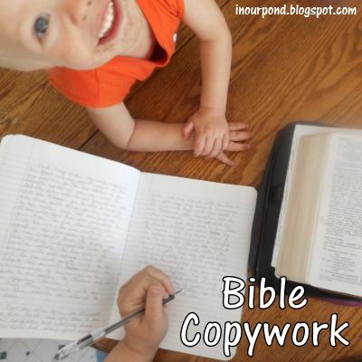 bible-copywork